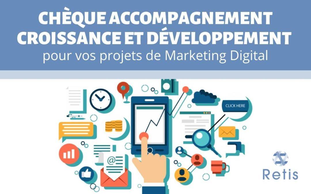 Chèque Accompagnement Croissance et Développement : le subside pour les projets de Marketing Digital des entreprises wallonnes