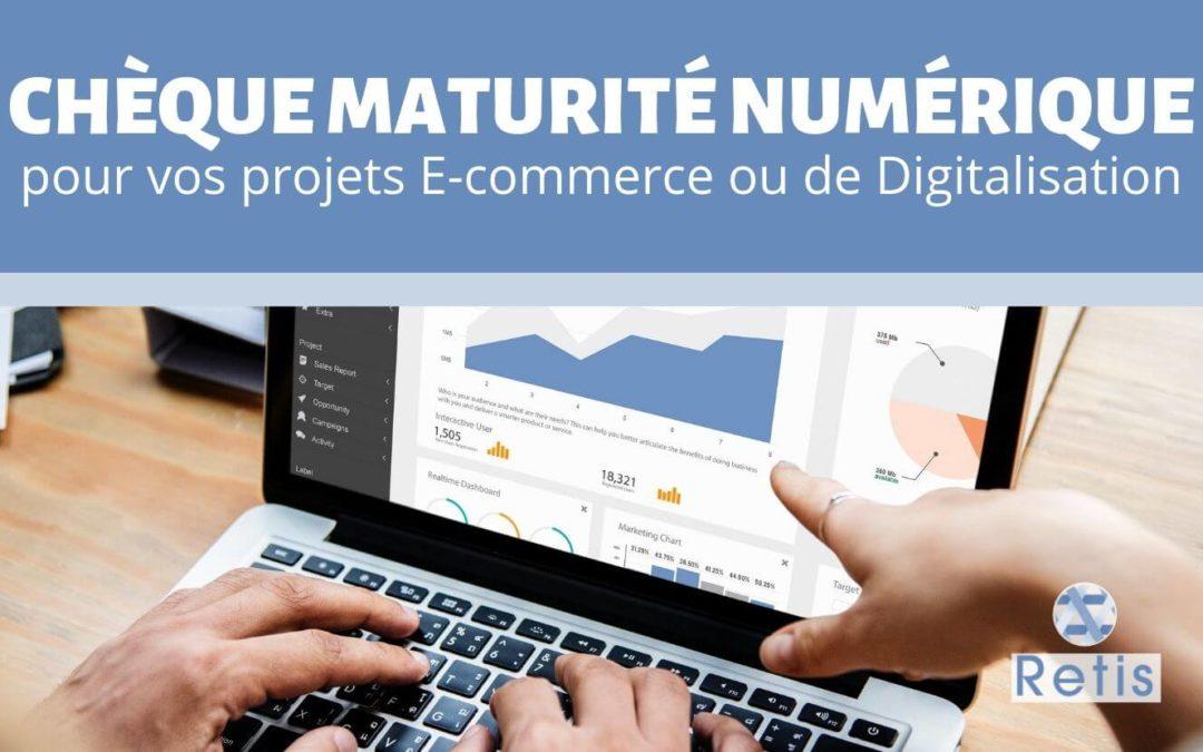 Chèque Maturité Numérique : le subside pour les projets d'E-commerce ou de Digitalisation des entreprises wallonnes