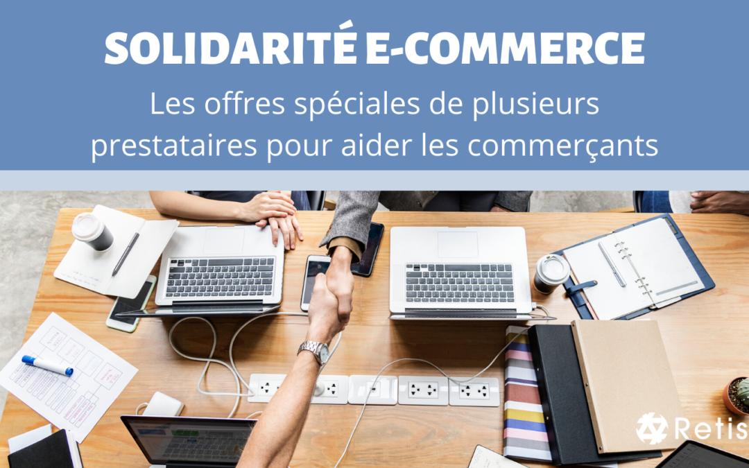 Solidarité E-commerce : Des prestataires mobilisés pour aider les commerçants de Belgique à vendre en ligne