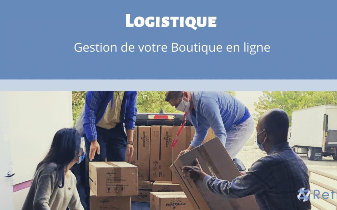 Gestion de la logistique d'une boutique en ligne