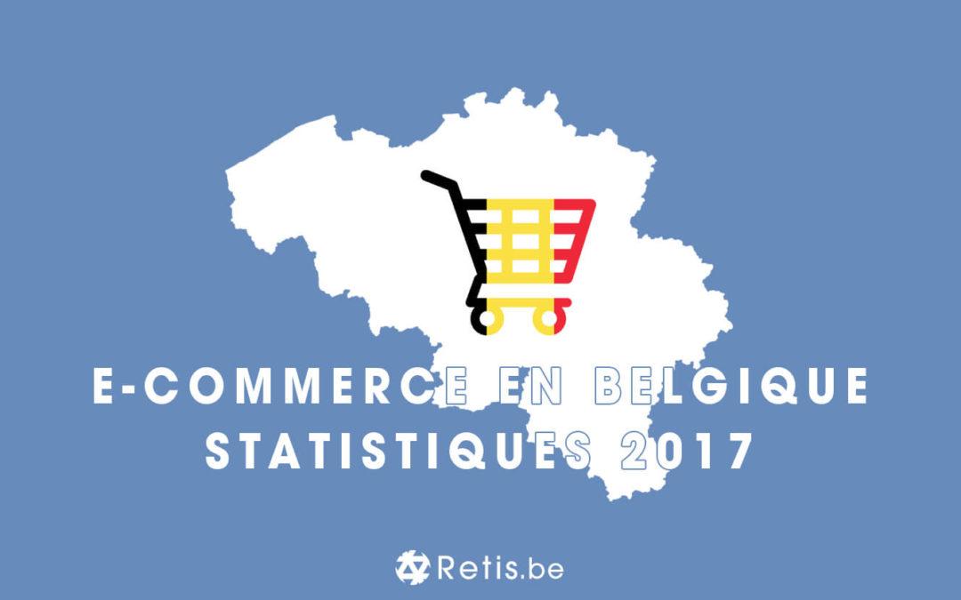 Statistiques sur le secteur de l'e-commerce en Belgique