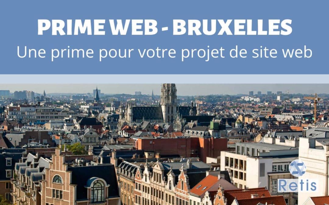 Prime Web : le subside de Bruxelles pour votre projet de site web