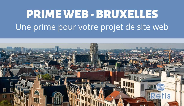 Présentation de la Prime Web de Bruxelles