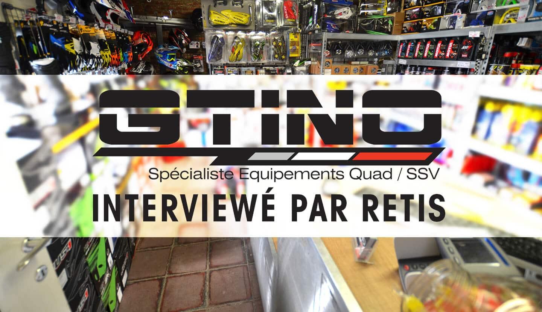 GTINO.com: la boutique en ligne pour le quad et SSV