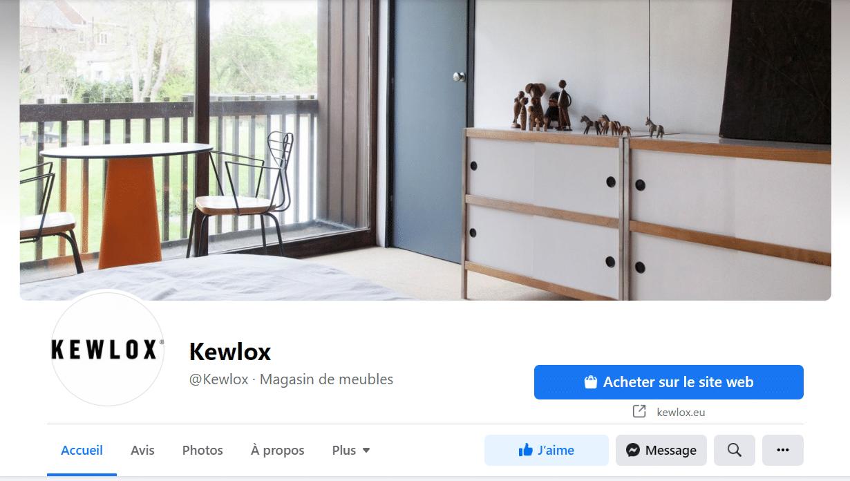 Kewlox réseaux sociaux