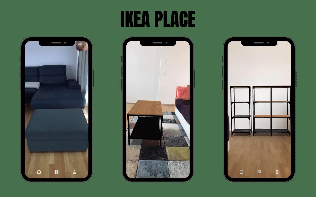 Application Ikea Place Réalité Augmentée